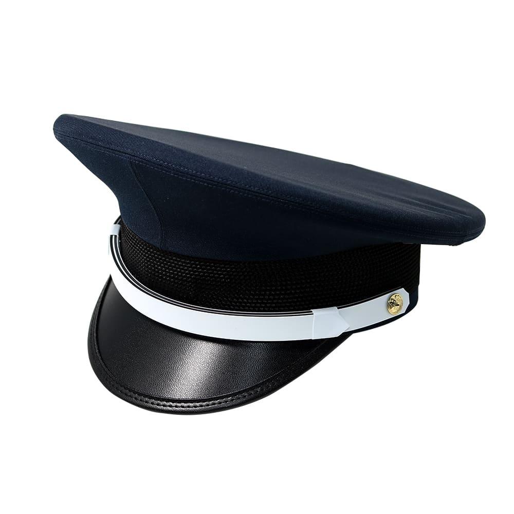 警備服 警備用品 本日限定 警備員 レインコート ワッペン 40%OFFの激安セール S430 紺 制帽 G-best