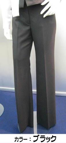 事務服 ピンクストライプ パンツユニフォーム 制服理想の温度帯をキープ!進化系スーツ