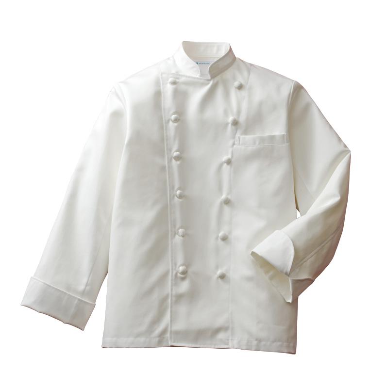 コックコート 白衣 長袖男女兼用 高級業務用