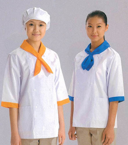 Ideal For Restaurant And Cafe Bakery Restaurant Uniforms Color With Coats For Women