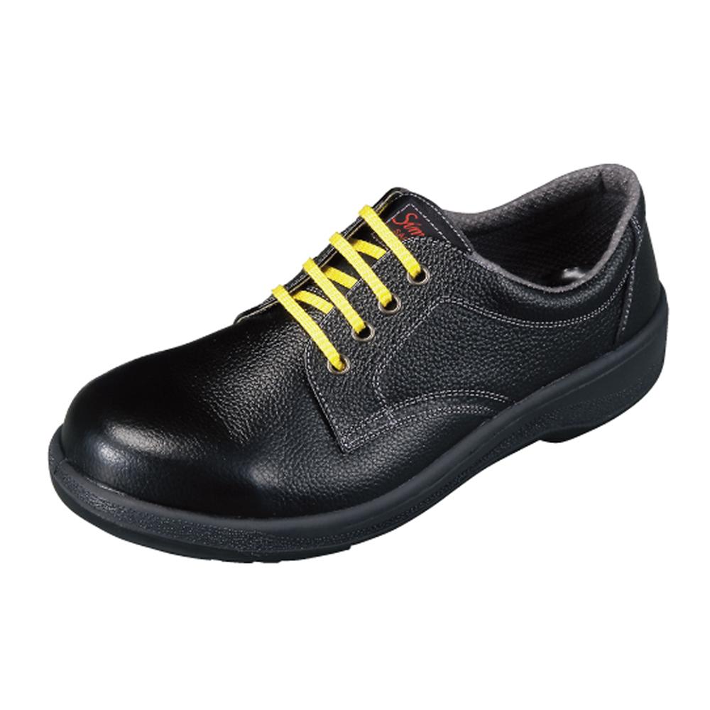 【7511黒】静電靴人体に帯電した静電気を、靴底を通して常に接地面にアースすることで除電する安全靴!甲被に牛革を使用した耐久性に優れたタイプ!