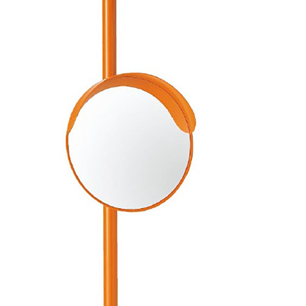 ユニット(UNIT)【384-20A】◎カーブミラー300mmΦ一面鏡ポール付