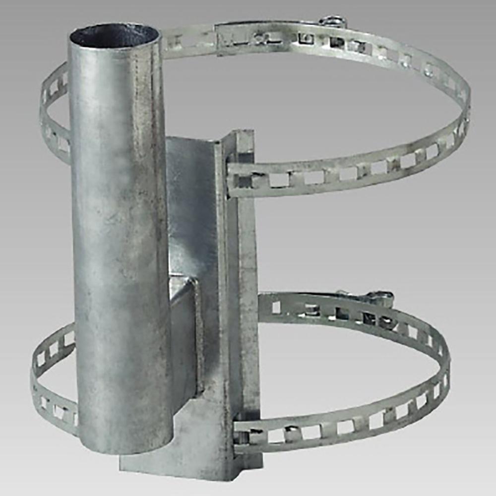 ユニット(UNIT)【384-94】カーブミラー取付用金具 電柱取付金具