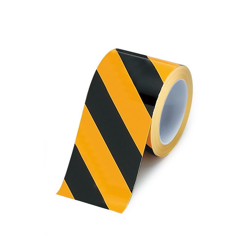 ユニット UNIT 安全標識 安全用品 ユニフィットテープ 即納送料無料! 863-660 WEB限定 黄黒 100×20M