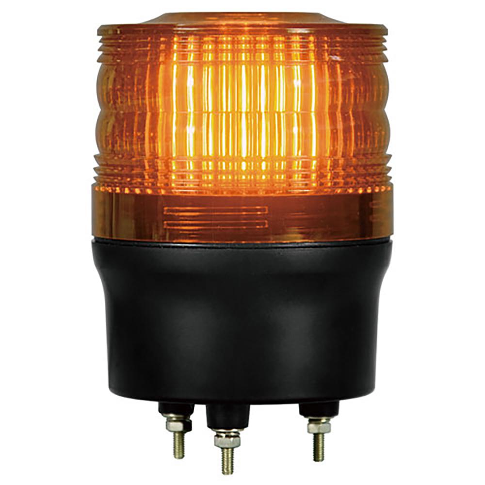 ユニット(UNIT)【882-981YE】LED回転灯 90黄 100V