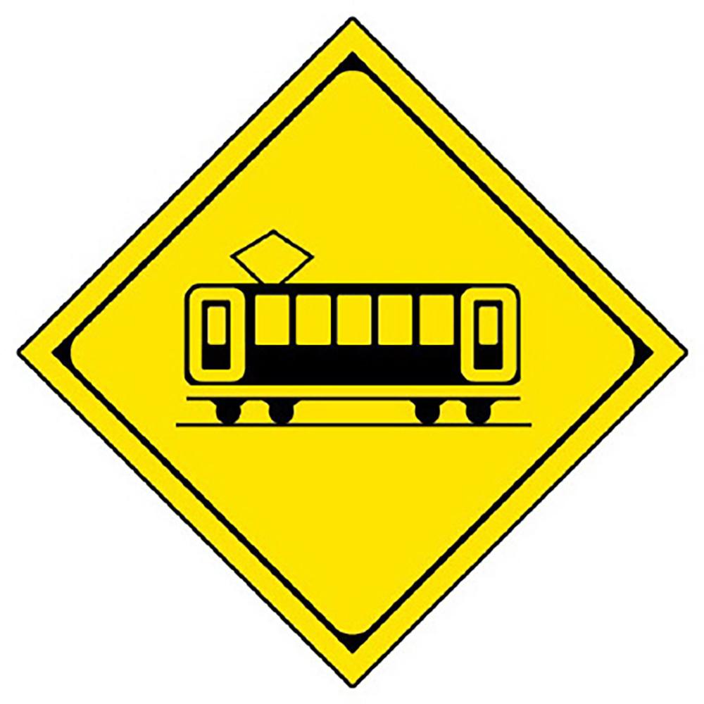 ユニット(UNIT)【894-40】警戒標識(207-B)踏切あり