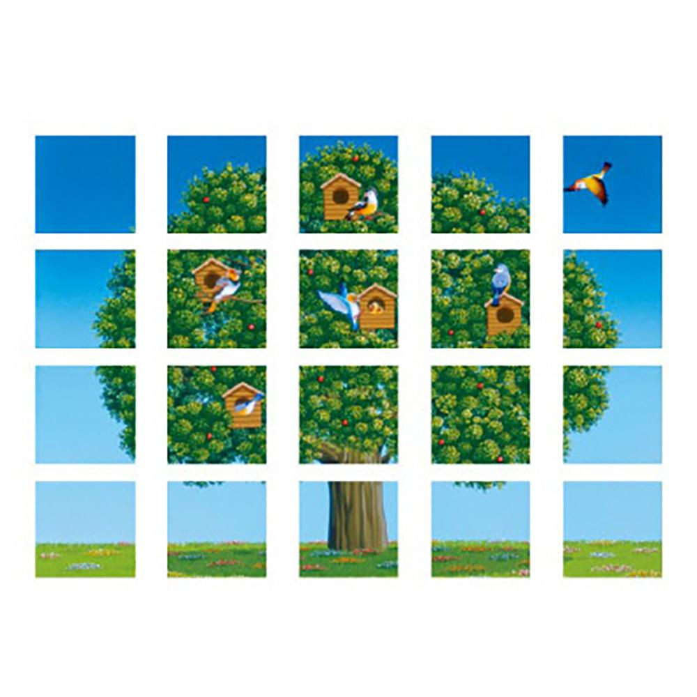 ユニット(UNIT)【917-14】マルチシート 鳥と木