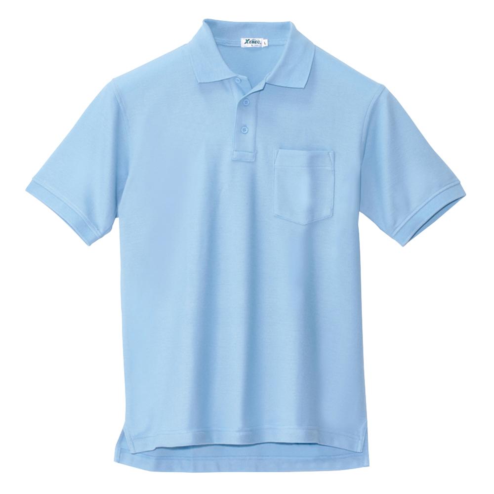 作業服 つなぎ服 商舗 防寒着 事務服 訳あり 半袖ポロシャツ 6170 ジーベック XEBEC