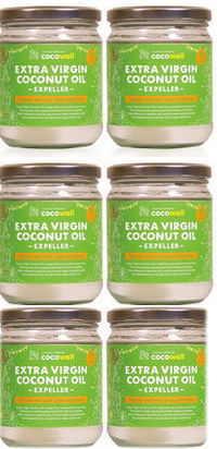 【6個でお買い得】ココウェル エキストラバージンココナッツオイル(エクスペラー)360g×6個(食品)