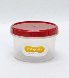 薬味・サプリメント・薬などの小さな物の保存に便利! 在庫限り!エコ専門エンバランス丸型保存パック470ml  色を選んでください。