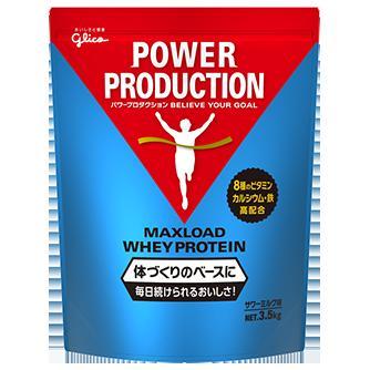 グリコ マックスロードホエイプロテイン<サワーミルク味>3.5kg