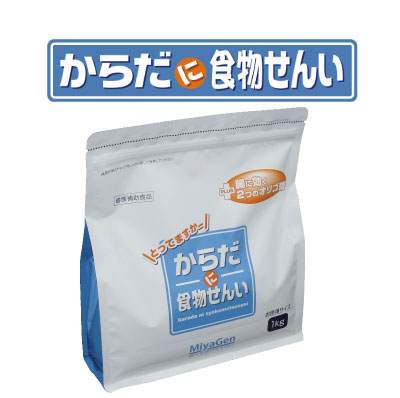 【送料無料】【3袋でお買い得!】からだに食物せんい お徳用 1kg×3袋【宮源】