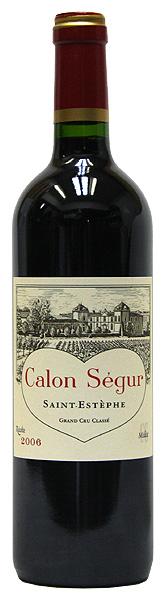 シャトー・カロン・セギュール[2006](赤ワイン)750ml ボルドー サン・テステフ CALON SEGUR GRAND CRU CLASSE SAINT ESTEPHE
