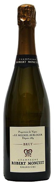 【ロベール・モンキュイ】ブリュット・ブラン・ド・ブラン・グラン・クリュ[NV](スパークリングワイン)[正規品][750ml][フランス][シャンパン][シャンパーニュ][辛口]