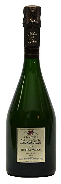 【ディエボルト・ヴァロワ】ブリュット・ブラン・ド・ブラン・フルール・ド・パッション[2007](スパークリングワイン)[750ml][フランス][シャンパン][シャンパーニュ][辛口]