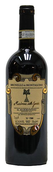 【楽ギフ_包装】 【イル・マッロネート】ブルネッロ・ディ・モンタルチーノ・マドンナ・デッレ・グラツィエ[2008](赤ワイン)750ml イタリア IL MARRONETO BRUNELLO di MONTALCINO Madonna delle Grazie, そうごう薬局 e-shop e766d9cc