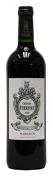 シャトー・フェリエール[2009](赤ワイン)[750ml][ボルドー][マルゴー] CHATEAU FERRIERE MARGAUX