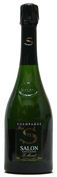 【サロン】ブリュット・ブラン・ド・ブラン・ル・メニル[2004](スパークリングワイン)750ml シャンパーニュ SALON BRUT BlANC DE BlANCS LE MESNIL