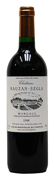 シャトー・ローザン・セグラ[1998](赤ワイン)[750ml][フランス][ボルドー][マルゴー][フルボディ][辛口][第2級]