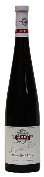 ルネ ミューレ ピノ ノワール シニャチュール 2014 2015 750ml 辛口 赤ワイン アルザス 格安SALEスタート フランス ミディアムボディ 新作