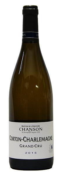 【シャンソン】コルトン・シャルルマーニュ[2014](白ワイン)[750ml][フランス][ブルゴーニュ][特級畑][辛口]