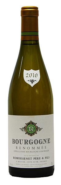 【ルモワスネ】ブルゴーニュ・ブラン・ルノメ[2010](白ワイン)[750ml][フランス][ブルゴーニュ][辛口]