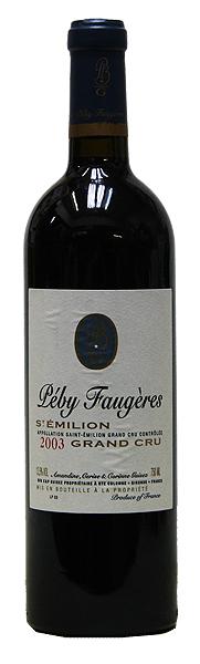 シャトー・ペビ・フォジェール[2003](赤ワイン)[750ml][フランス][ボルドー][サン・テミリオン][フルボディ][辛口]