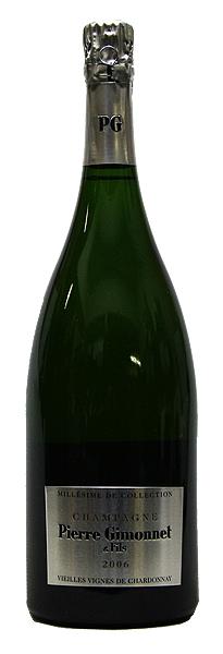 【ピエール・ジモネ】ブリュット・ミレジム・ド・コレクション[2006](スパークリングワイン)[1500ml][マグナムボトル][フランス][シャンパーニュ][シャンパン][辛口]