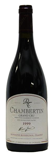 【ロシニョール・トラペ】シャンベルタン[1999](赤ワイン)[750ml][フランス][ブルゴーニュ][ミディアムボディ][特級畑][辛口][古酒]