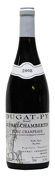 【ベルナール・デュガ・ピィ】ジュヴレ・シャンベルタン・1er・シャンポー[2008](赤ワイン)[750ml][フランス][ブルゴーニュ][一級畑][ミディアムボディ][辛口]