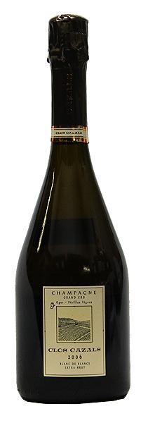 【クロード・カザル】クロ・カザル・ブラン・ド・ブラン・エキストラ・ブリュット[2006](スパークリングワイン)[750ml][フランス][シャンパーニュ][シャンパン][辛口]