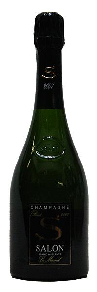 【サロン】ブリュット・ブラン・ド・ブラン・ル・メニル[2007](スパークリングワイン)[750ml][正規品][シャンパーニュ][SALON]