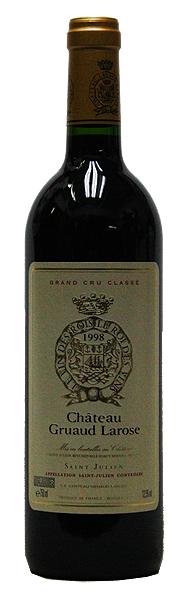 シャトー・グリュオ・ラローズ[1998](赤ワイン)[古酒][750ml][フランス][ボルドー][サン・ジュリアン][フルボディ][辛口]