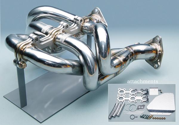 マキシムワークス MAXIM WORKS エキゾーストマニホールド(EXマニ)スカイラインクーペ CBA-CPV35 VQ35DE※セダン3500cc可/セダン3000cc不可