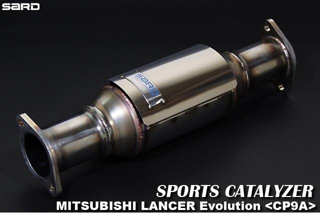 サード 【SARD】 スポーツキャタライザーランサー Evo.5 GF-CP9A 4G63 5MT 98.01~99.01