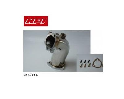 HPI 【エッチピーアイ】 ターボアウトレットパイプ φ77.5 シルビア S14/S15 SR20DET