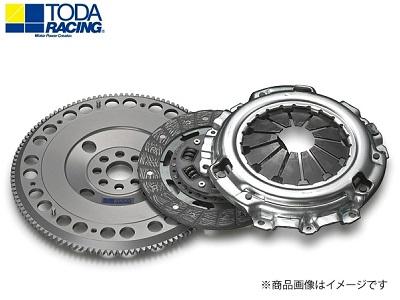 TODA RACING 【トダレーシング】 超軽量クロモリフライホイール&クラッチKIT(スポーツディスク)シビック EP3/FD2/FN2,インテグラ DC5アコード CL7/CL9 K20A