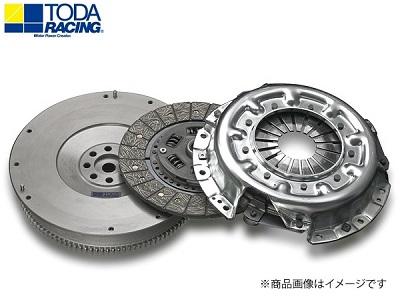 TODA RACING 【トダレーシング】 超軽量クロモリフライホイール&クラッチKIT(スポーツディスク)ランサーEVO IV/V/VI CN9A/CP9A 4G63