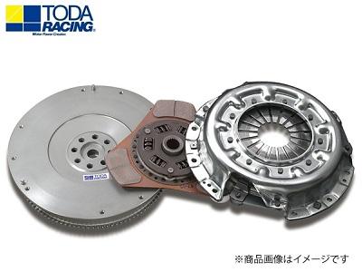 TODA RACING 【トダレーシング】 超軽量クロモリフライホイール&クラッチKIT(メタルディスク)ランサーEVO X CZ4A 4B11