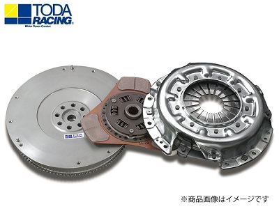 TODA RACING 【トダレーシング】 超軽量クロモリフライホイール&クラッチKIT(メタルディスク)ロードスター NCEC LF-VE(5MT)