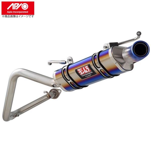 JB23 アピオ ヨシムラマフラー R-77J チタンサイクロン(ファイアースペック)スズキ ジムニー JB23 全型対応