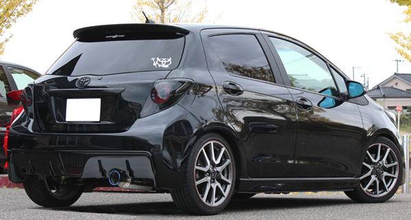 GP SPORTS (ジーピースポーツ) EXAS EVO Tune マフラーヴィッツ RS G's DBA-NCP131 1NZ-FE 5MT車専用 11/12~※RS G's CVT車はJQR未認証/RS標準車装着未確認