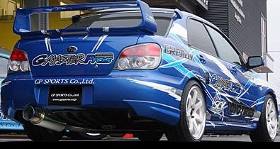 GP SPORTS (ジーピースポーツ) EXAS EVO Tune マフラーインプレッサ WRX STi(アプライドE~G)GH-GDB EJ20(ターボ) 04/6~07/6