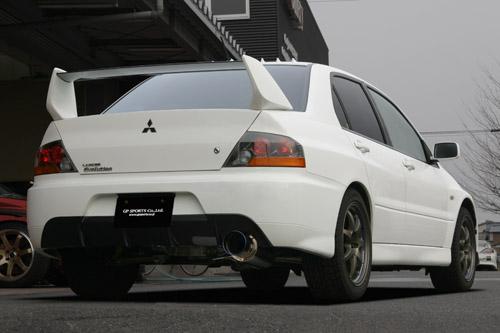 GP SPORTS (ジーピースポーツ) EXAS EVO Tune マフラーランサーエボリューション7/8/9 GH-CT9A 4G63(ターボ) 01/1~07/10 MR/GT-A装着可