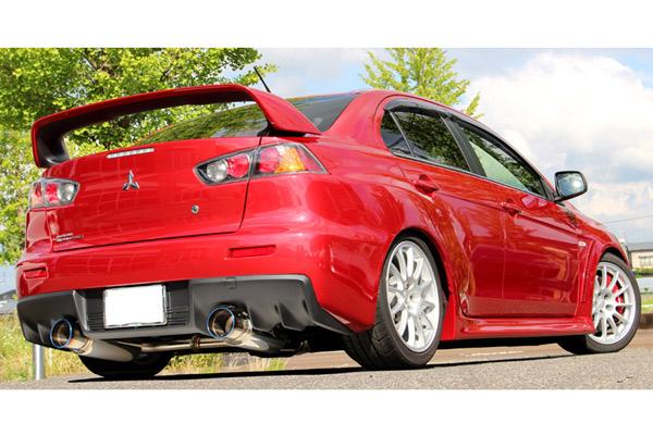 GP SPORTS (ジーピースポーツ) EXAS EVO Tune マフラーランサーエボリューション10 CBA-CZ4A 4B11(ターボ) 08/10~※SST車専用 触媒後交換タイプ