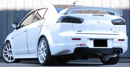 GP SPORTS (ジーピースポーツ) EXAS EVO Tune マフラーギャランフォルティス ラリーアート CBA-CY4A 4B11(ターボ) 08/7~10/4ギャランフォルティススポーツバック ラリーアート CBA-CX4A 4B11(ターボ) 08/12~10/4※リアピース交換タイプ・シングル出し
