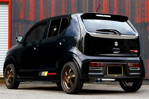 GP SPORTS (ジーピースポーツ) EXAS EVO Tune マフラーアルトワークス DBA-HA36S R06A (T) 15/12~ ※2WD・5MT専用