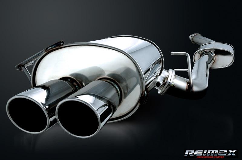 レイマックス 【REIMAX】スカイライン GT-R BNR34オールステンレスマフラーシステム【ダブル】