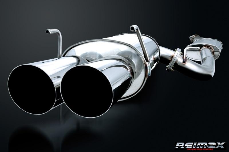 レイマックス 【REIMAX】ステージア 260RS WGNC34Kaiオールステンレスマフラーシステム【ダブル】