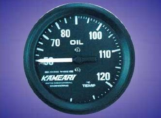 亀有 エンジンワークス 52φ 油温計 (機械式)